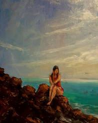 My Calming Place, 16x12, T. Ellis original painting $3650.00