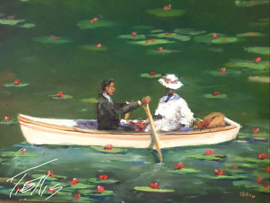 Just the Two of Us...T. Ellis www.tellisfineart.com 18x24 gallery wrapped canvas print gallery wrapped today only!!! $200.00