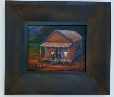 That's Mama's House- 8x10 T. Ellis framed original painting. $2,850.00