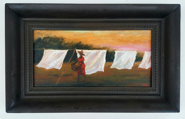 Summer Fresh-8x16 T. Ellis framed original painting. $2850.00