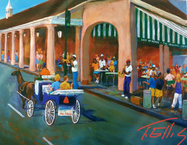 Sweet on the Big Easy- signed limited edition of 400 prints 22x28 reg $325.00 sale price $150.00 FREE SHIPPING!!!