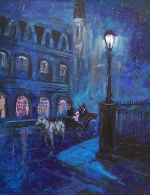 A Night of Romance- 20x16 original painting $4850.00