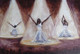 Praise Dancers is reproduce as a limited edition of 50 framed canvas replicas size 24x36 $1350.00. This African-American art print is a part of T. Ellis religious art series. www.tellisfineart.com