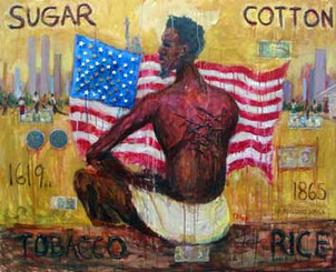 Built on Our Backs, 11x14, Emancipation Series, signed by artist T. Ellis $40.00 www.tellisfineart.com