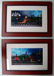 The Journey I & II (framed)