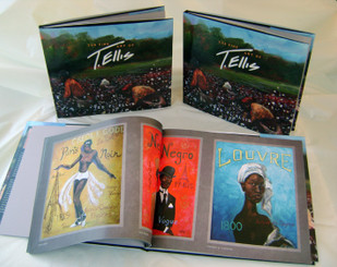 The Fine Art of T. Ellis, is a rare limited edition collectible coffee table art book measuring 11x14 with 103 colorful illustrations of African-American Art. Over 20 years celebrating African American culture and lifestyle through art. A beautiful journey shared through art. Each of the 150 signed books by T. Ellis. Just a great book to own!!! Order yours today!!! FREE SHIPPING!!! $275.00 www.tellisfineart.com. Please allow 2 weeks delivery. Thank you!!!