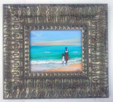 Enjoying the Day Together, 8x10, T. Ellis framed original painting, 2014. $2,350.00 www.tellisfineart.com