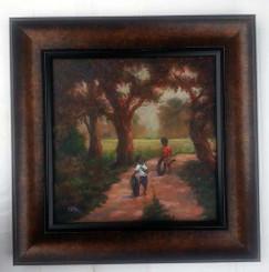 Good Old Fashion Fun, 16x16, T. Ellis original framed painting, 2014 $3,750.00 www.tellisfineart.com