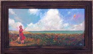"""Time to Let Go"", 12x24, T. Ellis framed original painting value $4,750.00 http://www.tellisfineart.com/originals/"