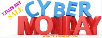 I'm in Cyber space and it is #CyberMonday ...today it's time to cyber shop for the best deals and I have a great deal for YOU!!! https://www.facebook.com/TEllisFineArt?ref=hl www.tellisfineart.com