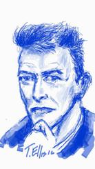 A tribute to David Bowie, an artistic talent and genius. Rest in peace. T. Ellis 01/11/16  www.tellisfineart.com , 17x11 digital print $30.00 #davidbowie #tmz #mtv #rip #bowie #music #ziggystardust #ripdavidbowie #hero #love #majortom #legend #heroes #song #london #blackstar #ziggy #labyrinth #musiclegend #amazing #regrann #rocknroll #lifeonmars #icon #starman #letsdance #sadness #rebelrebel #rock #artist #davidbowieis #sadday #rollingstonemagazine #SpaceOddity  #DavidBowie #davidbowieis #staytuned #samsung #samsunggalaxynote5
