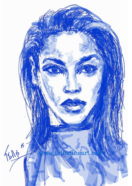 """Beyonce Knowles, 17x11, T. Ellis digital signed print $30.00 www.tellisfineart.com  Black History...American History 