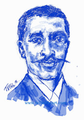 "I created 300 uses for the peanut...Who am I?  In recognition of Black History Month... George Washington Carver George Washington Carver, 17x11 signed digital T. Ellis print $30.00 www.tellisfineart.com  George Washington Carver was a prominent African-American scientist and inventor. Carver is best known for the many uses he devised for the peanut. http://www.biography.com/p…/george-washington-carver-9240299  https://www.youtube.com/watch?v=DeXUj8xOWtg For Immediate Release Media Contact:Carolyn M. Thibodeaux, Children's & YA Librarian Port Arthur Public Library 4615 9th Ave Port Arthur, TX 77642 (409) 985-8838 ext.2237 Port Arthur Public Library Commemorates Black History Month through Art-STEM ( STEAM) Port Arthur Texas - In commemoration of Black History month, The PAPL is elated to exhibit the Art of leveraging Science Technology and History through art and technology featuring a comprehensive collection of artwork from Ted Ellis featuring 29 Drawings of African Americans including biographies of 29 African Americans created with the use of Samsung technology on their Galaxy Note 5 mobile phone. This will be a first exhibit of its kind in the PAPLs History. The exhibit starts February 1 through Feb. 29, 2016 with a free opening reception scheduled Thursday February 11, 2016. Fueled by his passion for his family and his heritage; enabled by his artistic skill and commitment to excellence, Ted Ellis paints ""subjects that are representative of the many facets of American life, particularly, African-American culture and history"" as he knows It. ""I like to think of myself as a creative historian. I was put here to record history…all aspects of American culture and heritage. My sole purpose has always been to educate through my art."" With more than 30 years in the arts industry. Ted is not only a talented and creative artist he is fully capable of capturing the tone and significance of momentous events in a timely manner. Ted Ellis Fine Art is synonymous to the American experience, not just from the African American's perspective but from a cultural and iconic Ideal.Ellis recently presented ""Bloody Sunday-Selma, 1965"" at the 50th Anniversary Commemoration Event. Learn more about T. Ellis,www.tellisfineart.com. For more information on the Art-STEM ( STEAM) and how you can support this event, please contact the Port Arthur Public Library (409) 985-8838 ext.2237"