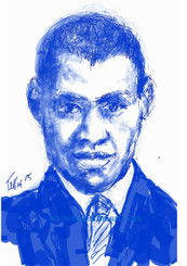 "Paul Rebeson 17x11 signed digtal print by T. Ellis $30.00 www.tellisfineart.com  In recognition of Black History Month...Paul Robeson  Paul Robeson was an acclaimed 20th-century performer known for productions like 'The Emperor Jones' and 'Othello.' He was also an international activist.  http://www.biography.com/people/barack-obama-12782369  https://www.youtube.com/watch?v=DeXUj8xOWtg For Immediate Release Media Contact:Carolyn M. Thibodeaux, Children's & YA Librarian Port Arthur Public Library 4615 9th Ave Port Arthur, TX 77642 (409) 985-8838 ext.2237 Port Arthur Public Library Commemorates Black History Month through Art-STEM ( STEAM) Port Arthur Texas - In commemoration of Black History month, The PAPL is elated to exhibit the Art of leveraging Science Technology and History through art and technology featuring a comprehensive collection of artwork from Ted Ellis featuring 29 Drawings of African Americans including biographies of 29 African Americans created with the use of Samsung technology on their Galaxy Note 5 mobile phone. This will be a first exhibit of its kind in the PAPLs History. The exhibit starts February 1 through Feb. 29, 2016 with a free opening reception scheduled Thursday February 11, 2016. Fueled by his passion for his family and his heritage; enabled by his artistic skill and commitment to excellence, Ted Ellis paints ""subjects that are representative of the many facets of American life, particularly, African-American culture and history"" as he knows It. ""I like to think of myself as a creative historian. I was put here to record history…all aspects of American culture and heritage. My sole purpose has always been to educate through my art."" With more than 30 years in the arts industry. Ted is not only a talented and creative artist he is fully capable of capturing the tone and significance of momentous events in a timely manner. Ted Ellis Fine Art is synonymous to the American experience, not just from the African American's perspective but from a cultural and iconic Ideal.Ellis recently presented ""Bloody Sunday-Selma, 1965"" at the 50th Anniversary Commemoration Event. Learn more about T. Ellis,www.tellisfineart.com. For more information on the Art-STEM ( STEAM) and how you can support this event, please contact the Port Arthur Public Library (409) 985-8838 ext.2237 ‪#‎antislaverymovement‬ ‪#‎oberlincollege‬ ‪#‎boston‬ ‪#‎blackhistorymonth‬ ‪#‎americanhistory‬ ‪#‎slavery‬ ‪#‎historicalartifacts‬ ‪#‎hbcunation‬ ‪#‎hbcu‬ ‪#‎naacp‬ ‪#‎urbanleague‬ ‪#‎asaalh‬"