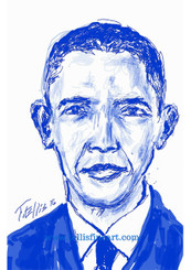 "President Barack Obama 17x11 signed digtal print by T. Ellis $30.00 www.tellisfineart.com  DAY# 29  In recognition of Black History Month...President Barack Obama  Barack Obama is the 44th and current president of the United States, and the first African American to serve as U.S. president. First elected to the presidency in 2008, he won a second term in 2012. http://www.biography.com/people/barack-obama-12782369 https://www.youtube.com/watch?v=DeXUj8xOWtg For Immediate Release Media Contact:Carolyn M. Thibodeaux, Children's & YA Librarian Port Arthur Public Library 4615 9th Ave Port Arthur, TX 77642 (409) 985-8838 ext.2237 Port Arthur Public Library Commemorates Black History Month through Art-STEM ( STEAM) Port Arthur Texas - In commemoration of Black History month, The PAPL is elated to exhibit the Art of leveraging Science Technology and History through art and technology featuring a comprehensive collection of artwork from Ted Ellis featuring 29 Drawings of African Americans including biographies of 29 African Americans created with the use of Samsung technology on their Galaxy Note 5 mobile phone. This will be a first exhibit of its kind in the PAPLs History. The exhibit starts February 1 through Feb. 29, 2016 with a free opening reception scheduled Thursday February 11, 2016. Fueled by his passion for his family and his heritage; enabled by his artistic skill and commitment to excellence, Ted Ellis paints ""subjects that are representative of the many facets of American life, particularly, African-American culture and history"" as he knows It. ""I like to think of myself as a creative historian. I was put here to record history…all aspects of American culture and heritage. My sole purpose has always been to educate through my art."" With more than 30 years in the arts industry. Ted is not only a talented and creative artist he is fully capable of capturing the tone and significance of momentous events in a timely manner. Ted Ellis Fine Art is synonymous to the American experience, not just from the African American's perspective but from a cultural and iconic Ideal.Ellis recently presented ""Bloody Sunday-Selma, 1965"" at the 50th Anniversary Commemoration Event. Learn more about T. Ellis,www.tellisfineart.com. For more information on the Art-STEM ( STEAM) and how you can support this event, please contact the Port Arthur Public Library (409) 985-8838 ext.2237 ‪#‎antislaverymovement‬ ‪#‎oberlincollege‬ ‪#‎boston‬ ‪#‎blackhistorymonth‬ ‪#‎americanhistory‬ ‪#‎slavery‬ ‪#‎historicalartifacts‬ ‪#‎hbcunation‬ ‪#‎hbcu‬ ‪#‎naacp‬ ‪#‎urbanleague‬ ‪#‎asaalh‬ ‪#‎frederickdouglass‬ ‪#‎whitehouse‬ ‪#‎columbiauniversity‬ ‪#‎senate‬ ‪#‎houseofrepresentative‬ ‪#‎supremecourt‬ ‪#‎civilrights‬ ‪#‎lawyer‬ ‪#‎PresidentoftheUnitedStates‬ ‪#‎Chicago‬"