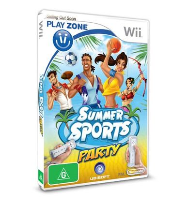 Play Zone: Summer Sports Party for Nintendo Wii