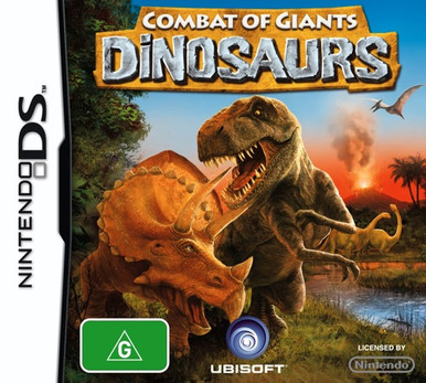 Combat of Giants: Dinosaurs for Nintendo DS