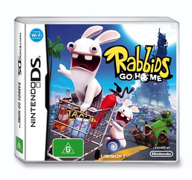 Rabbids Go Home Nds