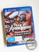 Dynasty Warriors 8 Xtreme Legends Complete Edition (PS Vita) Rare Australian Version