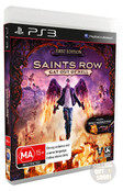 Very Rare MISSPELLED Saints Row IV Gat Out Of Hell (PS3) First Edition Australian Version