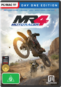 Moto Racer 4 (PC) Day One + SEASON PASS + DLC Australian Version