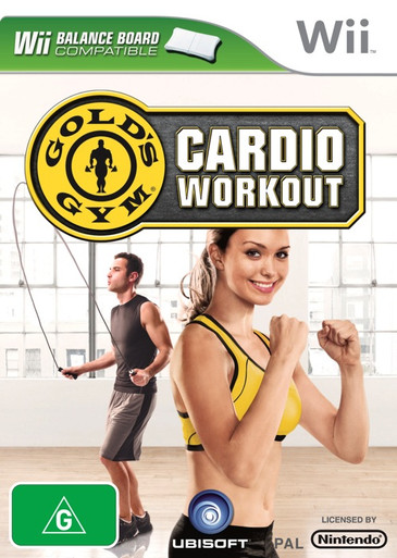 Gold's Gym Cardio Workout for Nintendo Wii