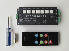 CT326-RF RGB LED Controller With Remote Control (18A max)