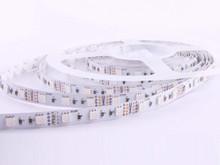 R6060AQ-RGB - 48W, 300-LED 5050SMD RGB Waterproof Flexible Ribbon Strip - 16.4'