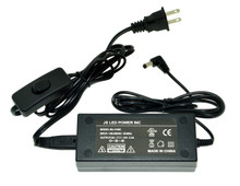 40W/12VDC Indoor Power Adapter with rocker switch - MJ-1240I