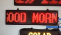 20mm TriColor Programmable Message Boards - 40in High