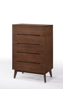 Modrest Lewis Mid-Century Modern Walnut Chest