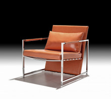 Divani Casa Ultra Modern Leatherette Accent Chair
