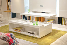 P210A - Modern White Coffee Table