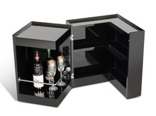 P205B Black Multi-functional Bar and End Table
