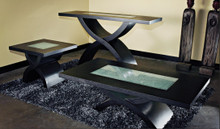 DS CT-368BF Dark Walnut Coffee Table