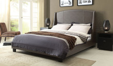 DS Laurent Buff Grey Platform Bed