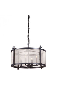Gabbro Ceiling Lamp Antique Black Gold