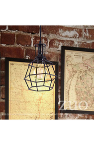 Christchurch Ceiling Lamp Distressed Black