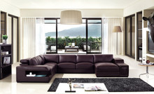 Divani Casa T132V - Modern Bonded Leather Sectional Sofa