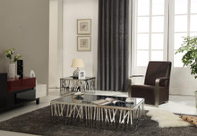 Modrest ET812 Contemporary Stainless Steel End Table