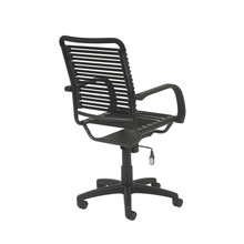 Euro Bungie Flat High Back Office Chair