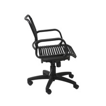 Euro Bungie Flat Mid Back Office Chair