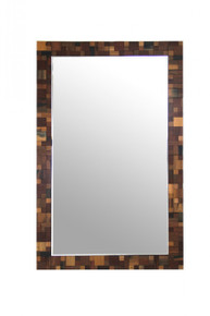 Modrest Pixel Modern Rectangular Wall Mirror