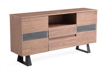 Modrest Corey Modern Walnut Buffet