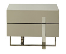 Modrest Voco Modern Grey Nightstand