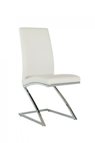 Modrest Angora Modern White Dining Chair