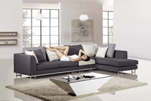 AE-L2203L Contemporary 3 Pcs Microfiber Sectional Sofa