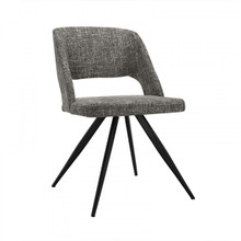 Modrest Palmer Modern Grey Fabric Dining Chair