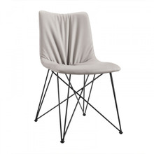 Modrest Naomi Modern Grey Leatherette Dining Chair