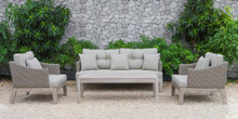 Renava Coronado Outdoor Beige Sofa Set